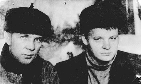 Справа: вор в законе Николай Ивановский, 1953 год, Красноярский край, Северное УИТЛ (Строительство 503)