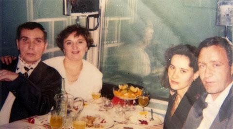 Паша Цируль с женой и авторитетом Волком в Сан-Франциско, США