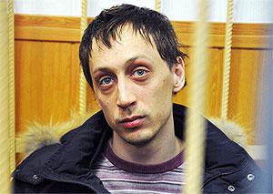 Павел Дмитриченко после своего ареста в марте 2013 года