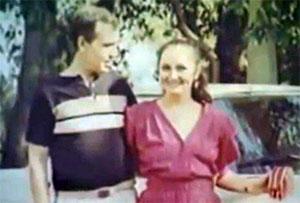 Павел Захаров с любимой женой Розой