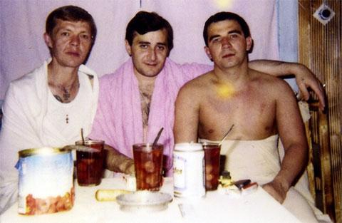 Справа воры в законе: Вадим Сабреков (Чебурашка) и Камо Егиазаров (Камо Московский)