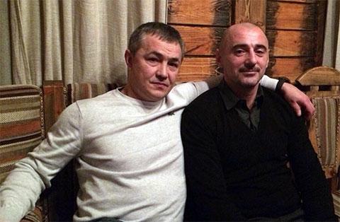 Слева воры в законе: Ильдар Асянов и Хусейн Ахмадов