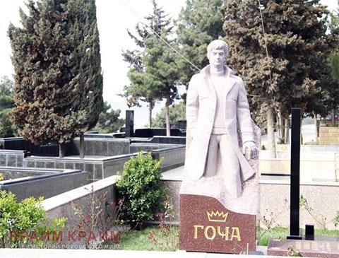 Могила вора в законе Алибалы Гамидова