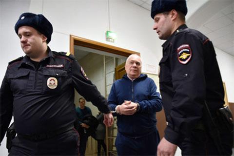 Григорий Рабинович в суде. Фото: Ирина Бужор / «Коммерсантъ»
