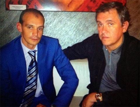 Слева воры в законе: Владимир Озерский (Зюзя) и Олег Мухаметшин (Муха)