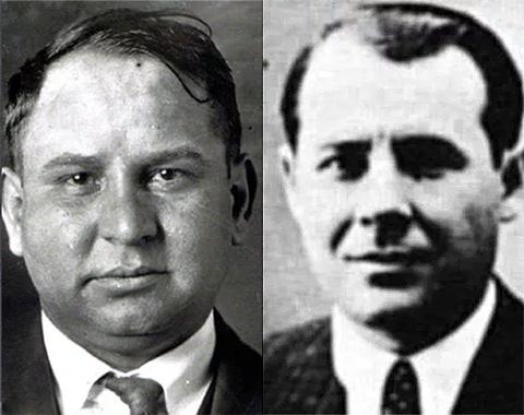 Слева: Джо Массерия и Сальваторе Маранцано