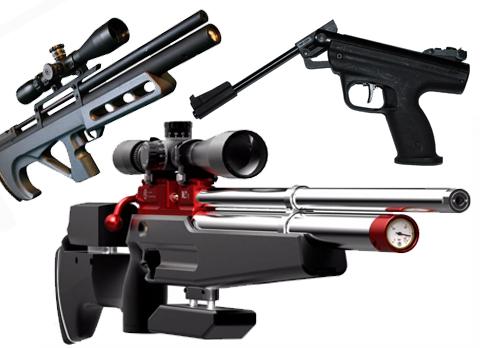 Разновидности пневматического оружия