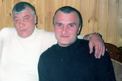 Слева: криминальный авторитет Федор Титов (Тит), вор в законе Георгий Углава (Тахи)