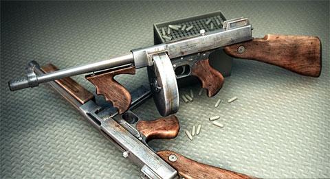 Модификации пистолетов-пулеметов Томпсона с дисковым и коробчатым магазинами фото