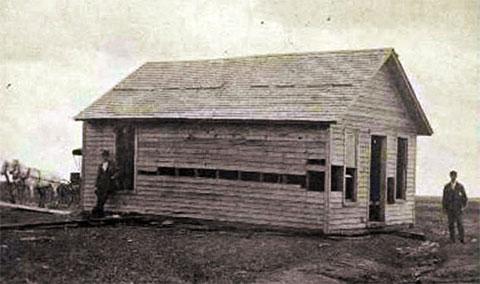Однокомнатный дом Бендеров