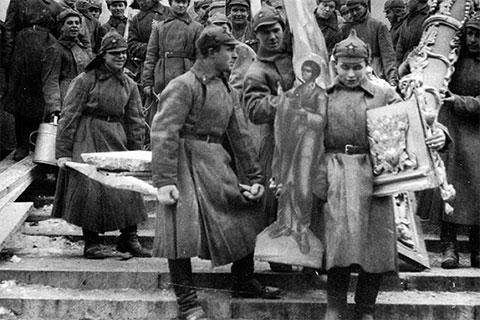 Расстрел священников при Ленине