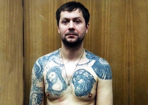 Вор в законе Дмитрий Галеев - Галей и его татуировки