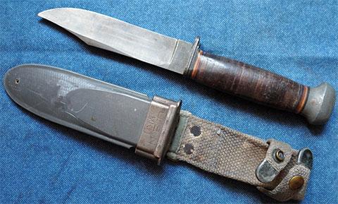 Нож США МК1 времен Второй Мировой войны