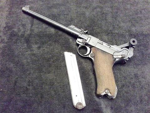"""Пистолет """"Парабеллум"""""""