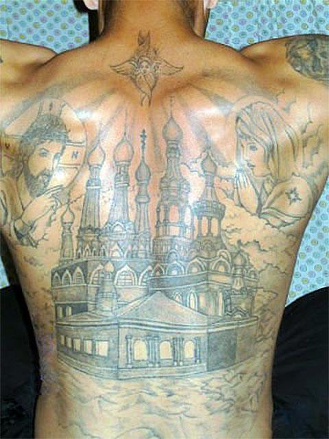 Татуировка купола - фото