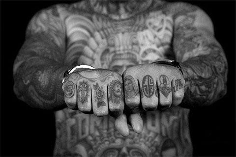 Татуировки перстней на пальцах фото