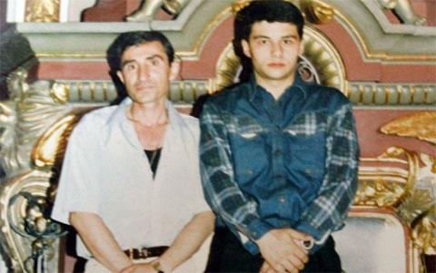 Слева воры в законе: Оганес Оганесян (Ово Абовянский) и Алексей Бычков (Ленчик Рязанский)
