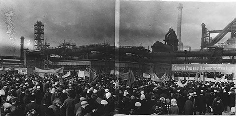 Восстание в Темиртау фото