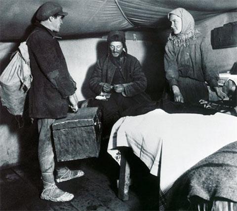 В палаточном городке Темиртау
