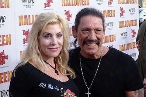 Дэнни Трехо с женой Дебби Трехо