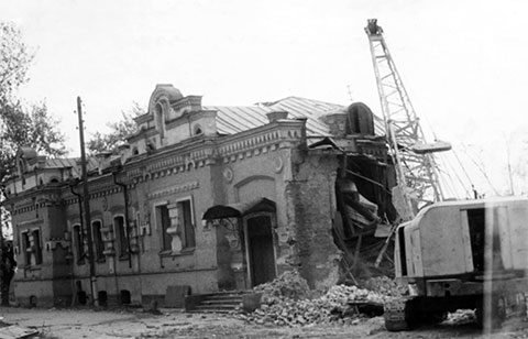 Снос Ипатьевского дома в Екатеринбурге