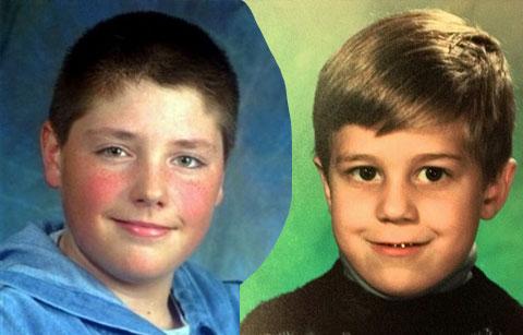 Слева: Эндрю Голден и Митчелл Джонсон