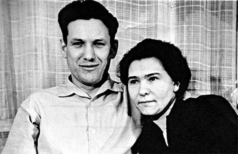 Борис и Наина Ельцины, начало 1960-х