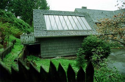 Дом, в котором был найден труп Курта Кобейна