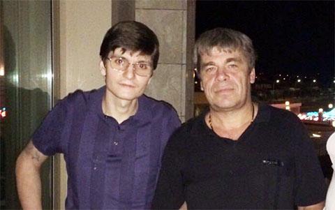 Слева воры в законе: Гайк Саркисян (Айко Астраханский), Виктор Панюшин (Витя Пан)