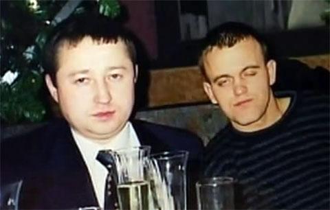 Слева: Радик Галиакберов (Раджа) и Сергей Гребенников (Промокашка)
