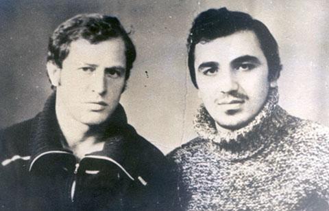 Слева воры в законе: Дато Габелашвили ( Дато Краснодарский) и Тариел Ониани (Таро)