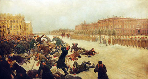 Кровавое воскресенье 1905 года