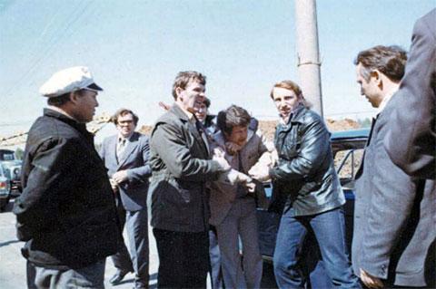 Задержание Иванькова сотрудниками МУРа в 1981 году