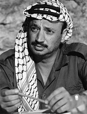 Ясир Арафат в молодости фото