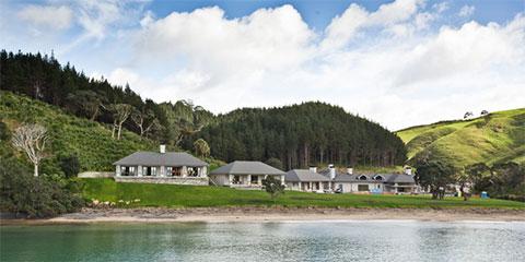 Имение Helena Bay россиянского олигарха Абрамова в Новой Зеландии