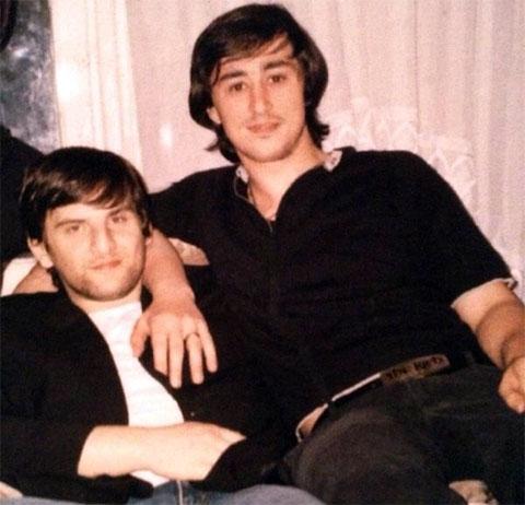 Слева воры в законе: Владимир Джанашия (Ладо) и Астамур Гулия (Астик Сухумский)
