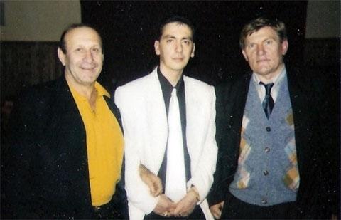 Слева воры в законе: Тамаз Бережиани, Эдишер Стуруа и Владимир Баркалов