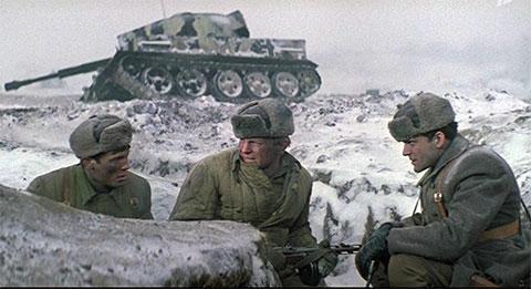 """Кадр из фильма """"Горячий снег"""""""