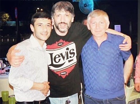 Слева воры в законе: Джавид Мамедов (Дато Агджабединский), Тенгиз Пирвели (Тенго Тбилисский), Лаша Джологуа (Лаша Гагринский)