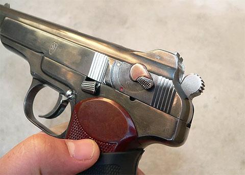 9-мм пистолет Стечкина-АПС (фото)