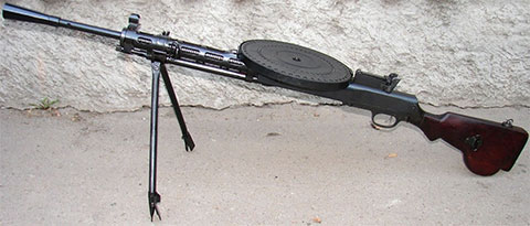 Пулемёт Дегтярёва пехотный - фото