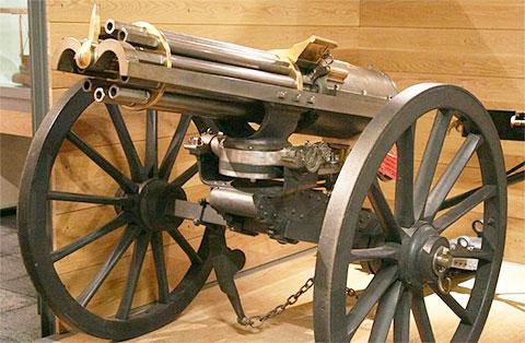 Пулемет Гатлинга 1862