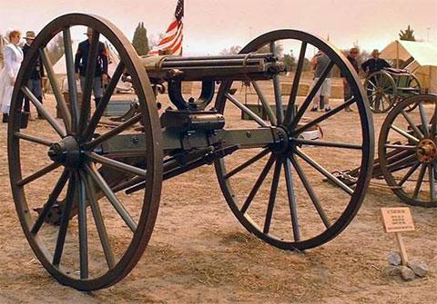 Пулемет доктора Гатлинга