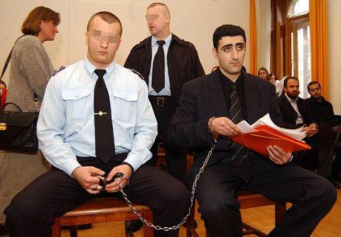 Рамиль Сафаров на суде