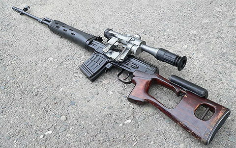 СВД - фото снайперской винтовки