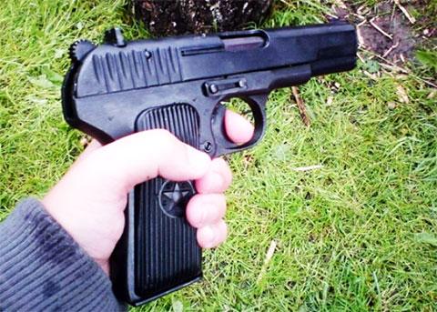 Боевой пистолет ТТ - фото