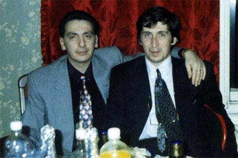 Слева воры в законе: Эдишер Стуруа и Тариел Качарава