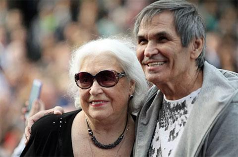 Бари Алибасов и Лидия Федосеева-Шукшина - фото