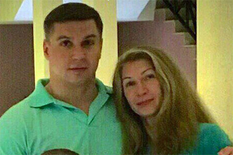 Дмитрий Волобуев и его жена Ирина