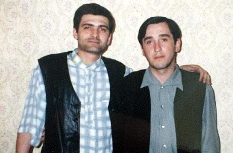 Слева воры в законе: Мамука Цискаришвили (Кио) и Паата Бакрадзе (Паата Тбилисский)